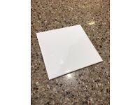 WHITE GLOSSY TILES 150X150 - BIG CLEARANCE