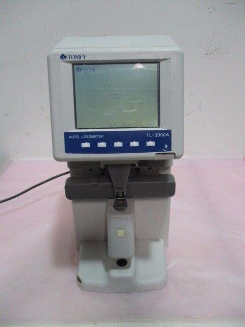 Tomey TL-3000A Auto Lensmeter, 100-240V, 50/60Hz, 35VA, 416328