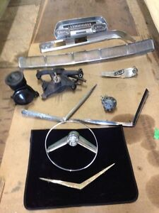 Spare parts for a 1957 Cadillac Coupe DeVille