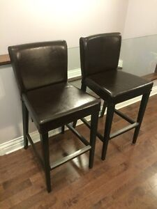 IKEA HENRIKSDAL bar stools/chairs x2 (perfect & clean condition)