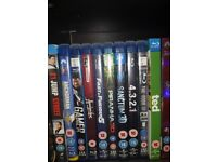 Bluray and dvd collection 98 movies £50 ono