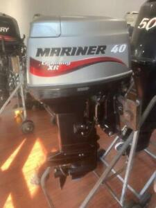 40hp Mariner Outboard Motor Lightning S2105 Southport Gold Coast City Preview