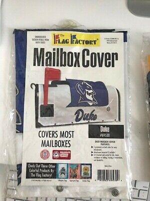 Duke Blue Devils Flag Factory Two-Sided Mailbox Cover; ACC; NCAA Duke Blue Devils Cover