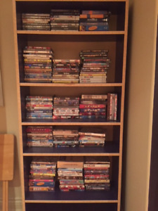 Selling 180 DVDs-some children, mostly Hollywood and TV series