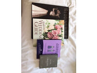 Selection of 4 wedding books to help plan your perfect wedding