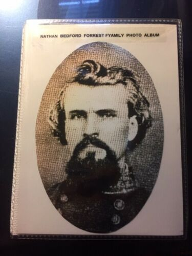 GENERAL NATHAN BEDFORD FORREST FAMILY PHOTO ALBUM TYPE 2, REDUCED