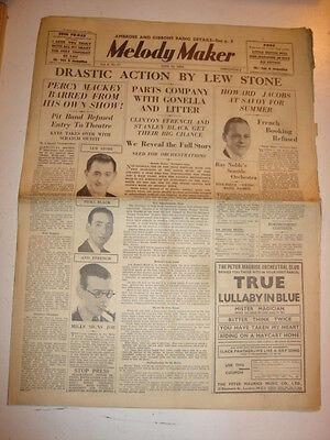 MELODY MAKER 1934 JUNE 23 LEW STONE HOWARD JACOBS NAT GONELLA STANLEY BLACK
