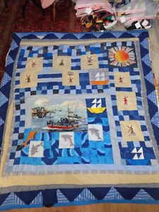 Quilt / Bedspread, Home Made, Titled People of the World 3