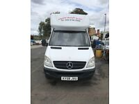 2008 Mercedes Sprinter Luton With tail lift