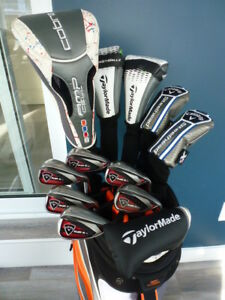 Superbe ensemble golf Callaway Razr X, Cobra AMP CELL,Taylormade