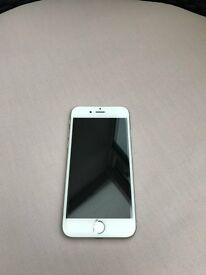 I PHONE 6S – 16GB SILVER AND WHITE. PURCHASED BRAND NEW AUGUST 2016