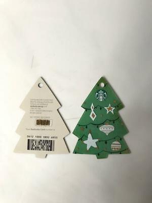 Singapore Starbucks 2017 Christmas Tree Card ()