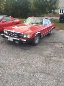 SELLING MY 1974 MERCEDES 450SL