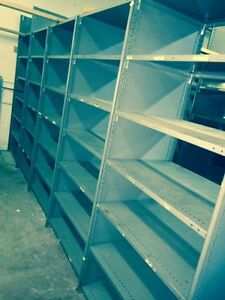 steel industrial shelving