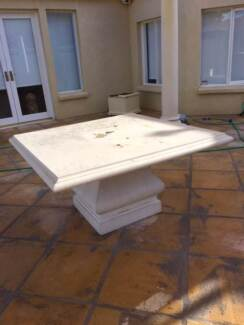 Cement Outdoor Table (seats 8)