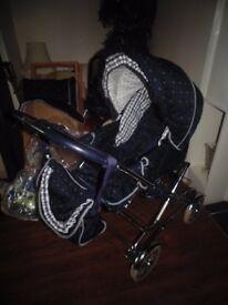 Pram/pushchair/carrycot/rocker/car seat