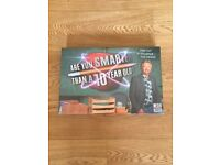 Are you smarter than a 10 year old board game in immaculate condition - new / still in cellophane