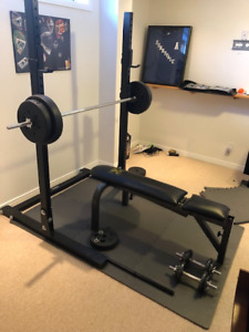Northern Lights Weight Rack and Bench