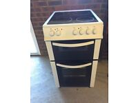 LOGIK free standing Electric cooker/grill/hob. New in July.