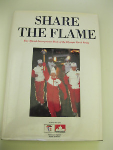 1988 *SHARE THE FLAME* HARD COVER BOOK BY DERIK MURRAY