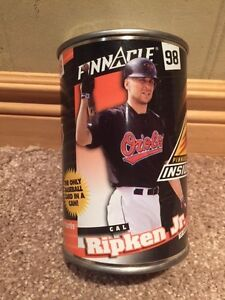Cal Ripken 1998 Pinnacle Cards in a can -Baltimore Orioles
