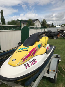SEADOO HX AND DOUBLE TRAILER