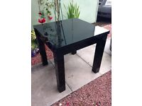 Dining Table, Next Black High Gloss.