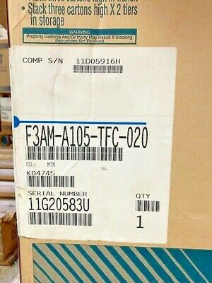 Copeland F3am-a105-tfc-020 Welded Condensing Unit R22 208230 3ph
