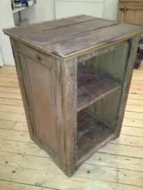 Unique Rustic Bespoke Country-Style Wooden Cabinet