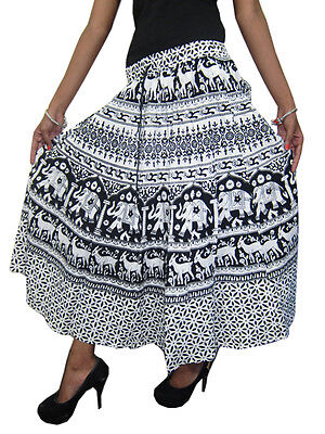 Black N White Skirt - Dress Ala