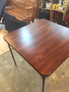 Old Style Card Table