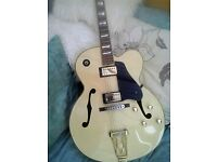 "Vintage arch-top 1970's electromatic ""Japanese Lawsuit "" jazz Guitar."