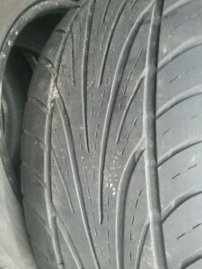 "Set of 4- 235/45/17"" Tires,Lots of tread"