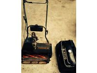 Atco Commodore B20 professional self propelled mower 20inch regraound cylinder and blade