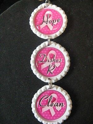 "Breast Cancer Awareness ""Hope"" Dishwasher Clean/Dirty Ornament ~ **Gift Idea"