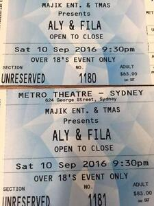 2x Hardcopy Aly and Fila tickets at the Metro, Sat 10/9 FOR SALE! Canterbury Canterbury Area Preview