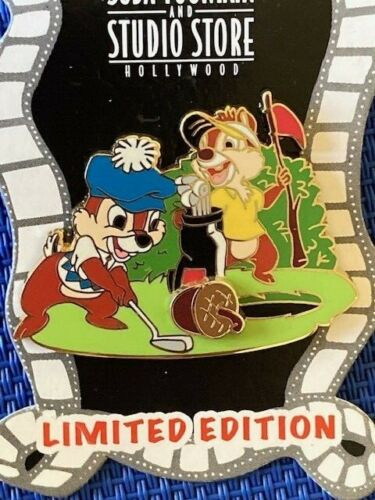 Disney DSF - Characters Playing Golf - Chip & Dale Pin LE 300