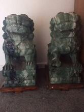 Magnificent Chinese Lions Matching pair. Elsternwick Glen Eira Area Preview