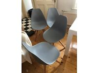 CULT FURNITURE Dining chairs x4 Designer