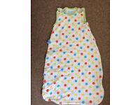 Grobag / sleeping bag 0-6 months 1 Tog - excellent condition