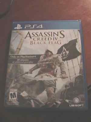 Replacement Case (NO GAME) for Assassin's Creed Black Flag (PS4) Playstation 4  Flag Case Zubehör