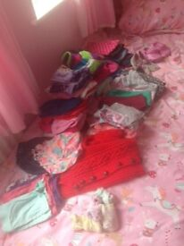 Girls Bundle of Clothes Age 3 - 0ver 50 items