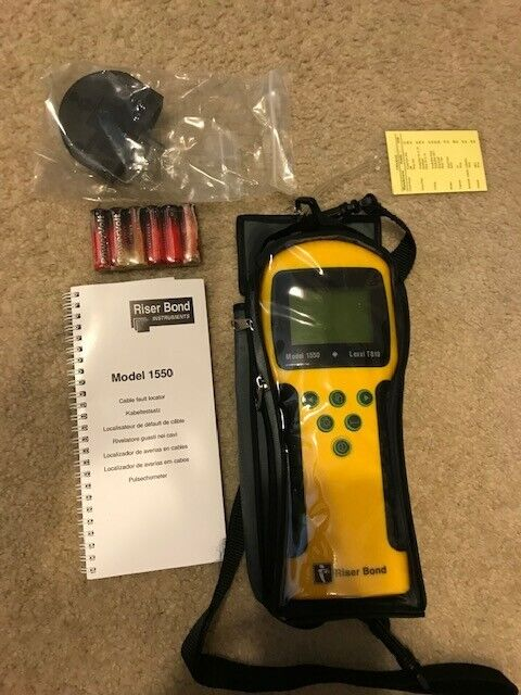 Riser Bond Cable Fault Locator Handheld TDR Model 1550 Lexxi 810/ *FREE SHIPPING