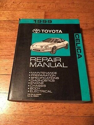 1999 Toyota Celica Service Repair Shop Workshop Manual OEM Factory Engine +
