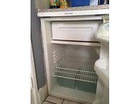 Electrolux Small fridge with freezer £30