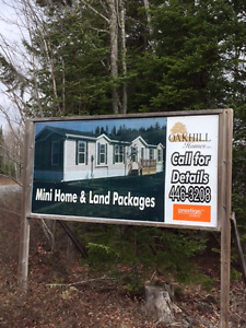 Mini-Home Land Package Deal