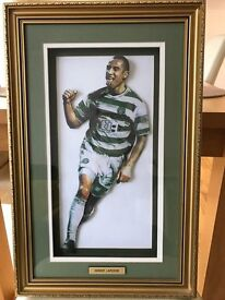 Celtic Football Club , Henrik Larsson Picture