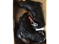 alpinestars motor bike boots