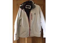 Henri Lloyd Gore-Tex white waterproof jacket