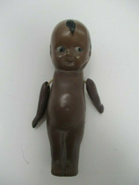 "Vintage Kewpie Jointed Doll 3.5"" Made in Japan"